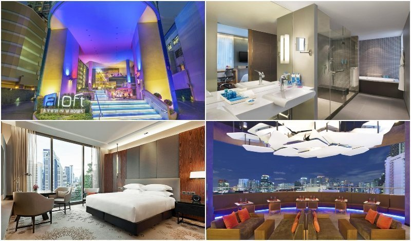 Photos of Aloft Sukhumvit 11 hotel in Bangkok