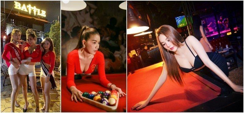 Battle Bar girls (in Nuanchan)