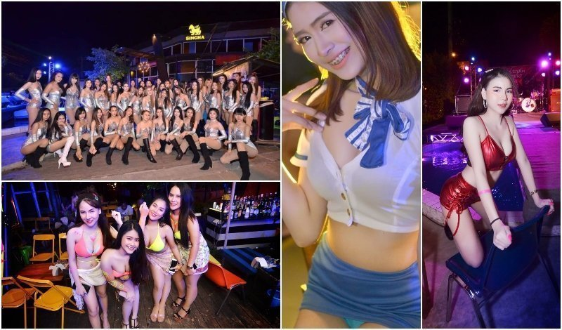 Fit girls (in Bueng Kum)
