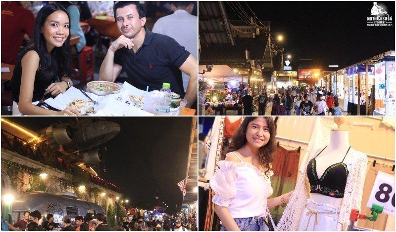 Talad Rod Fai Night Market Srinakarin