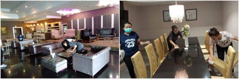 Bangkok soapy massage cleaners