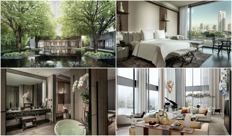 Presidential Suite at Four Seasons Bangkok