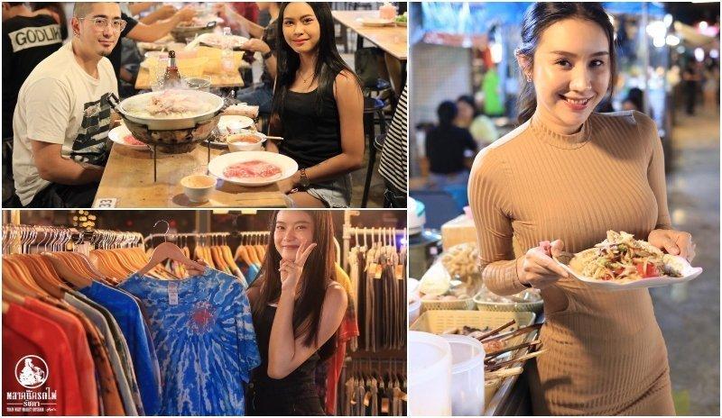 Night Markets girls bangkok