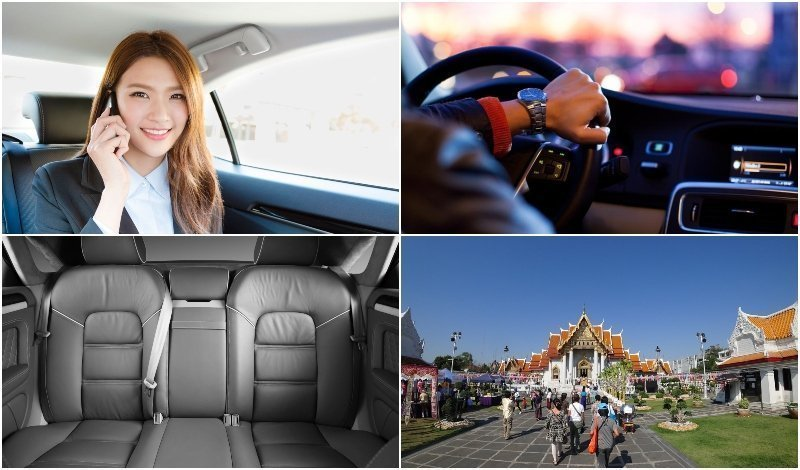 Services offered by Bangkok Limousines in Thailand
