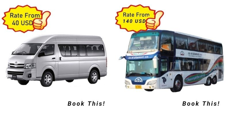 Promotional rates by Bangkoklimo.org limousine service in Thailand