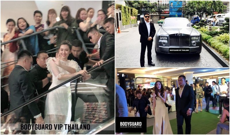 Close protection service by Bodyguard VIP Thailand
