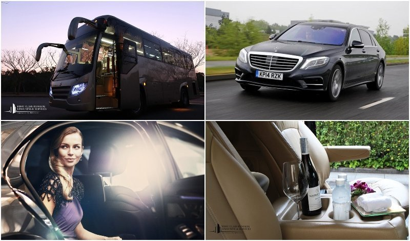 Bus and limousine services offered by First Class Bangkok in Thailand