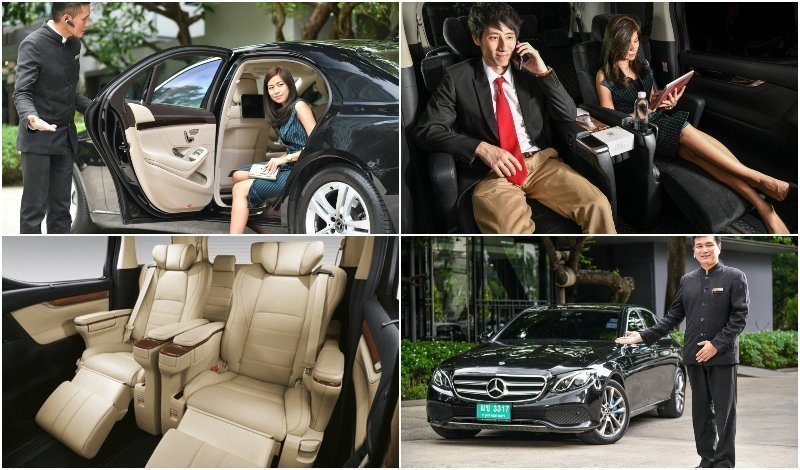 Limousine service and driver from GB limos by Ground Business in Bangkok