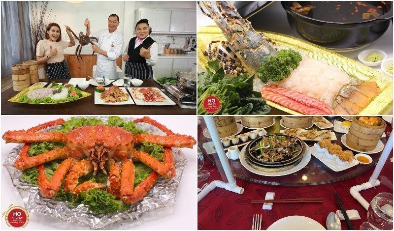 Ho Kitchen Seafood restaurant in Mengjai Bangkok