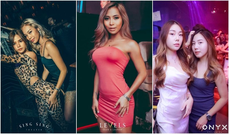 sexy girls in Bangkok nightclubs
