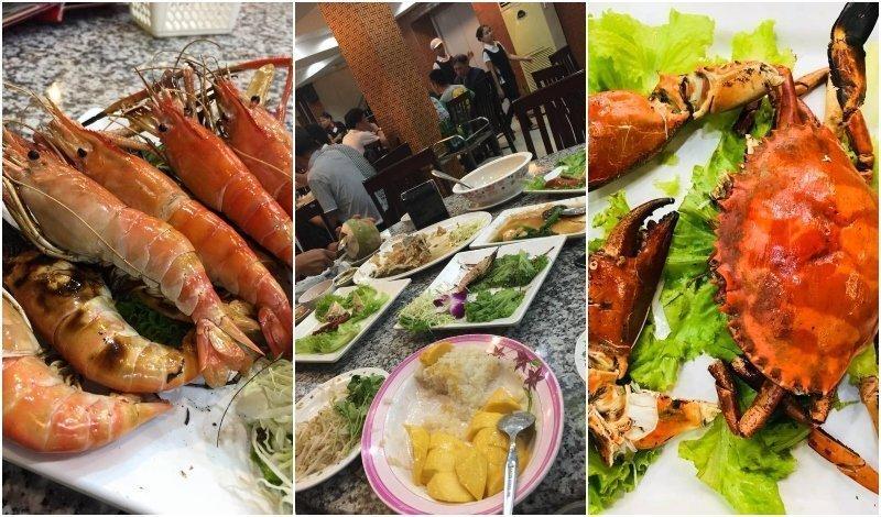 Kuang Seafood restaurant in Bangkok