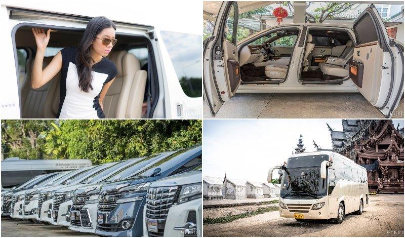 MEKHE minivans limousine and party bus fleet in Bangkok