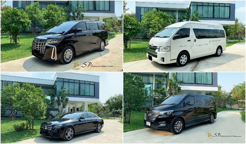 Minivans and limousines services by SP Limousine in Bangkok