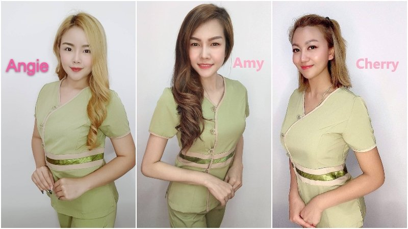 Thai sexy therapists from The Best Thai Massage Bangkok