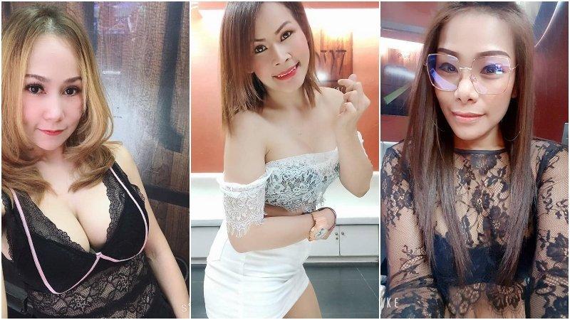 Thai girls of Wood Bar BJ Bar in Bangkok
