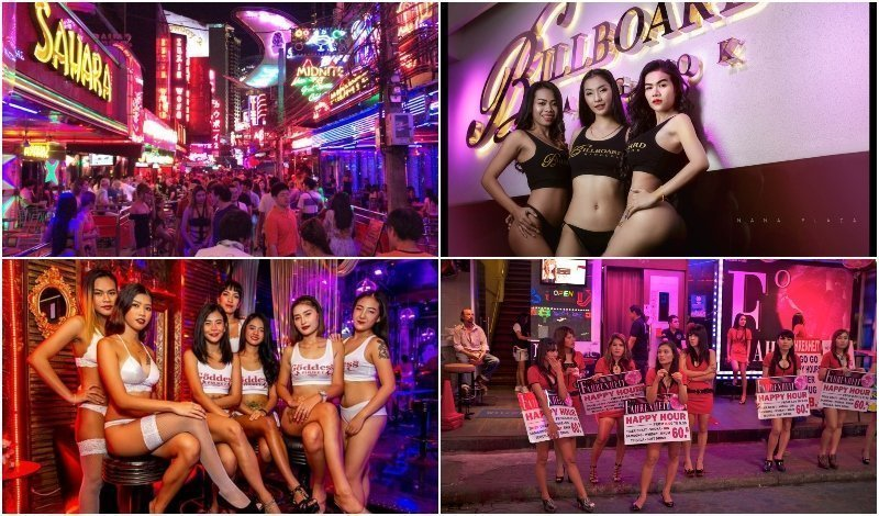 Best Red Light Districts in Bangkok