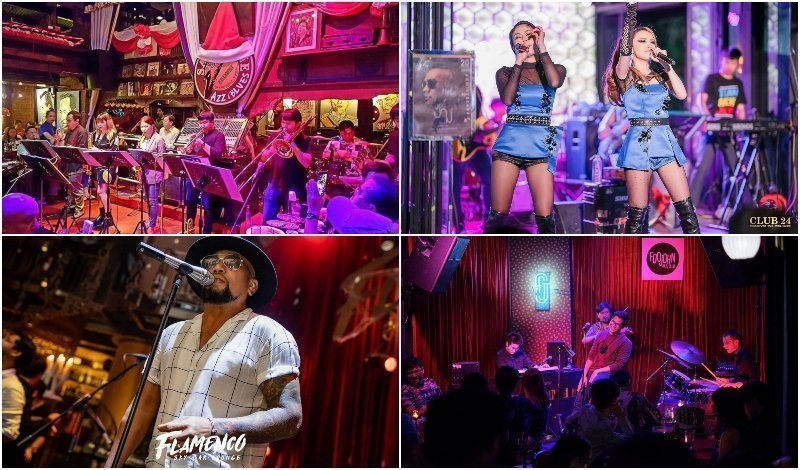 Best Venues with Live Music in Bangkok