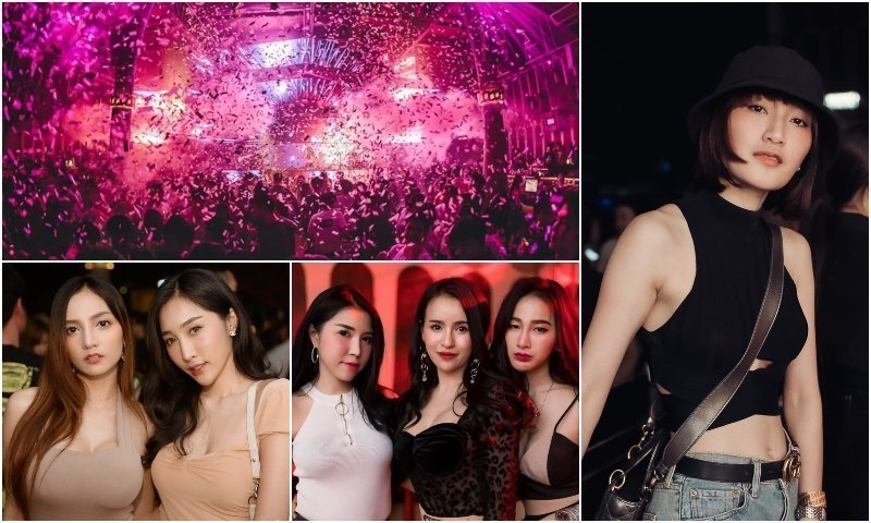 Party and sexy Thai girls at Barbarbar club in Thonglor Bangkok