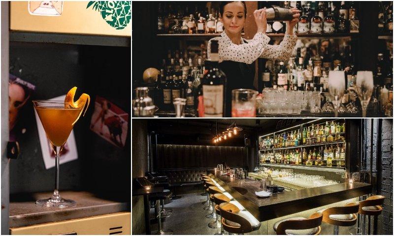 Cocktail and design of Find The Locker Room cocktail bar in Thonglor Bangkok