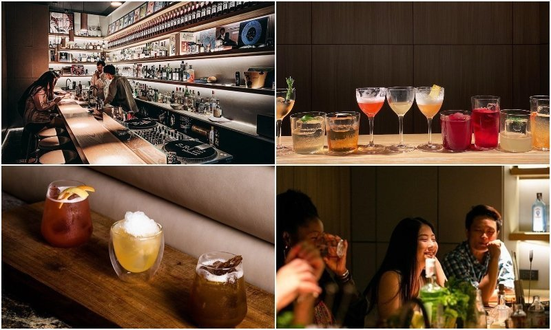 Cocktails and interior of Sugarray Apartment at The Commons Thonglor