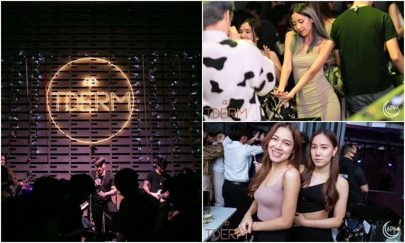 TDERM club in Bangkok with live singers and sexy Thai girls