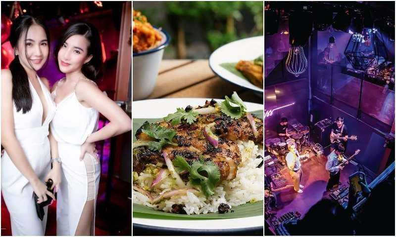 Food live music and Thai girls at bars in Thonglor