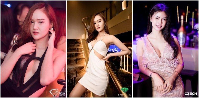 Hot Thai girls from gentlemen clubs in Thonglor Ekamai area in Bangkok