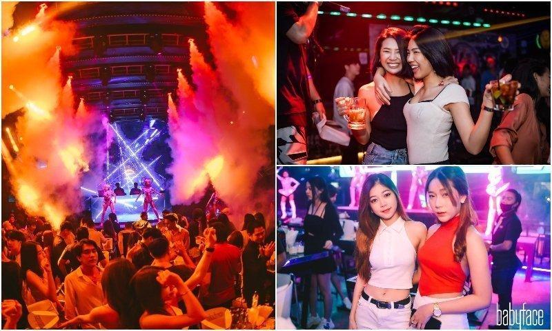 Thai girls at a club in Thonglor area in Bangkok