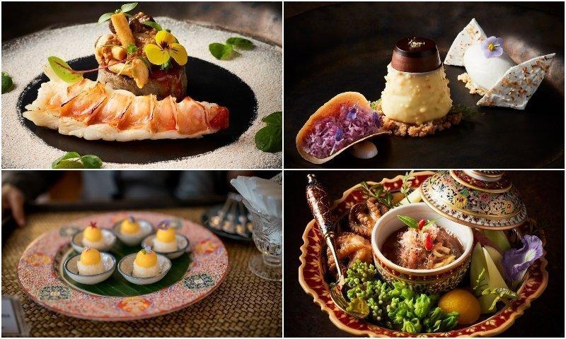 Food from popular restaurants in Thonglor area in Bangkok