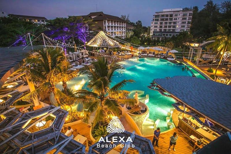 Alexa Beach Club in Pattaya