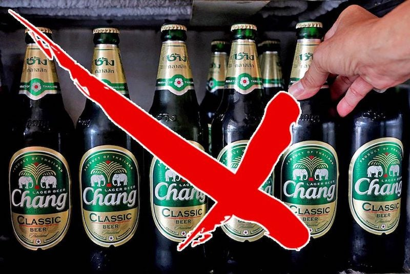 ban on alcohol sales in Thailand