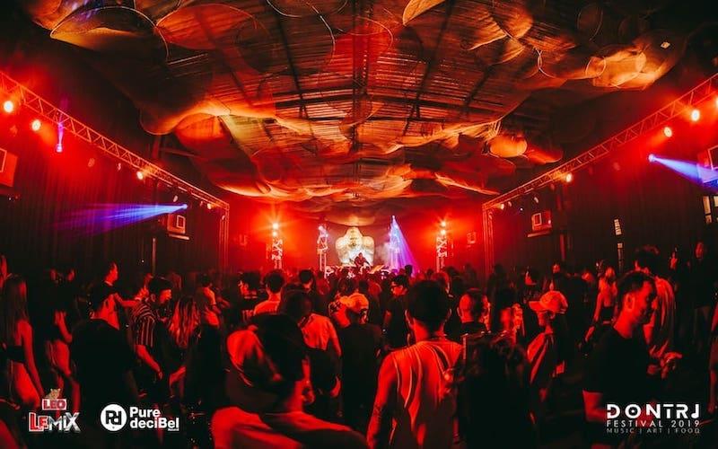 Dontri music festival in Bangkok