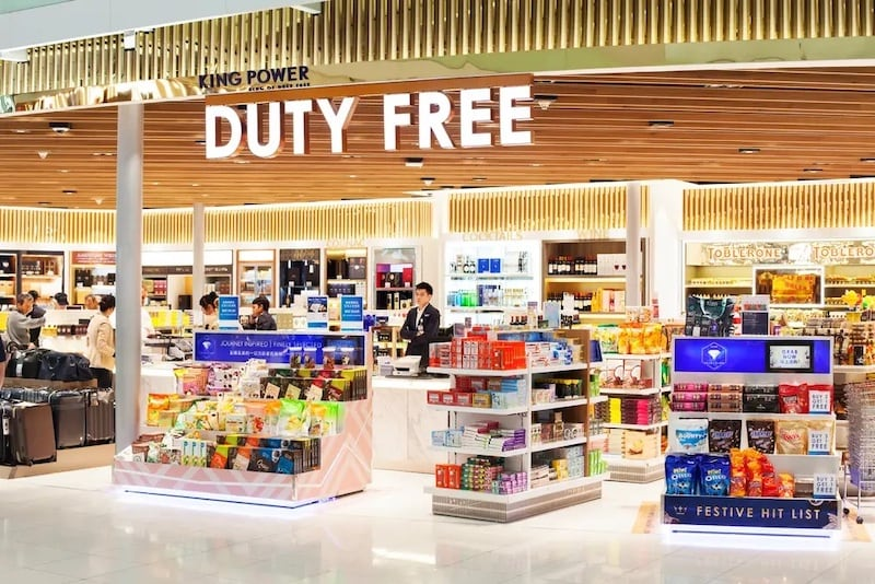 duty free King Power in Thailand