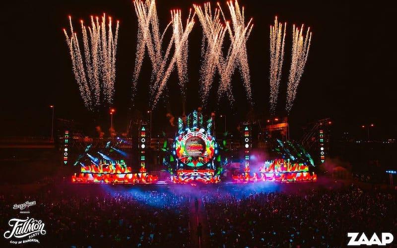 Music festival Fullmoon live in Bangkok