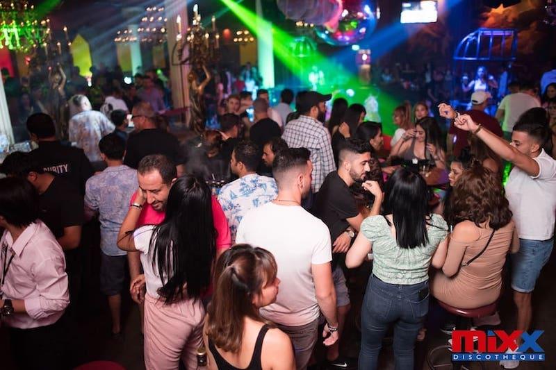 Mixx discotheque in Pattaya