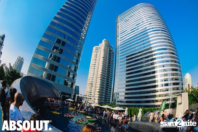 pool party at W Bangkok