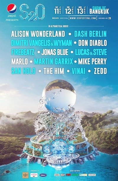 s2o festival 2020 full lineup