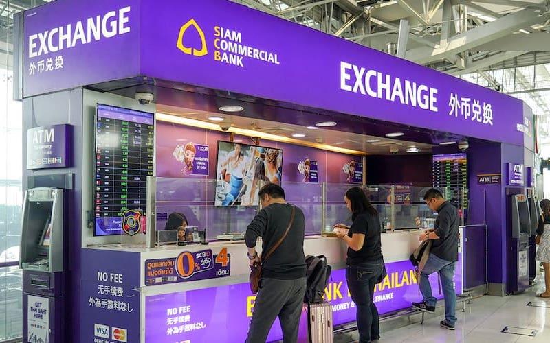 Scb money exchange at bangkok airport