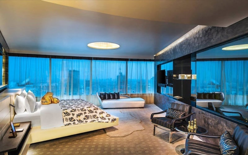 room of W hotel Bangkok in Sathorn