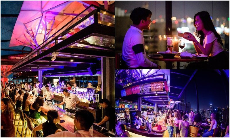 Above Eleven rooftop bar in Sukhumvit soi 11