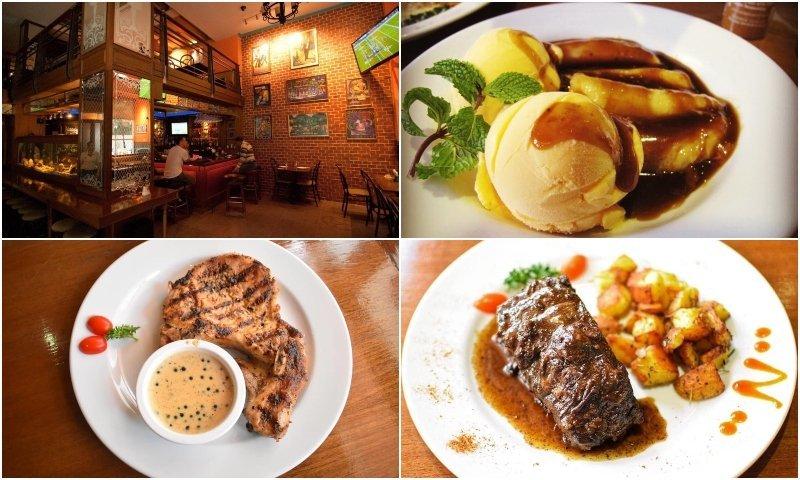 Bourbon Street Bangkok restaurant and food