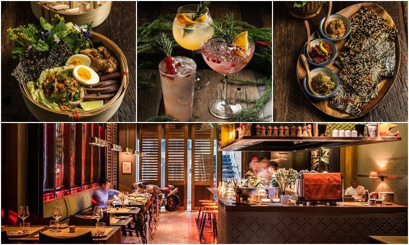 Funky Lam Kitchen restaurant and dishes in Thonglor Bangkok