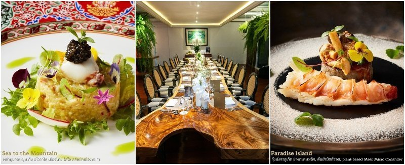 R Haan Michelin star restaurant and dishes in Thonglor Bangkok
