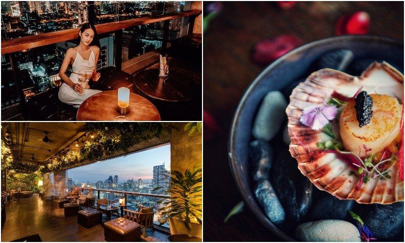 Scarlett restaurant and wine bar in Silom Bangkok