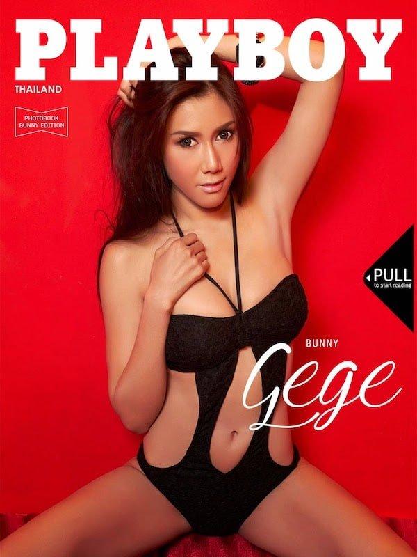 Playboy Thailand photobook cover