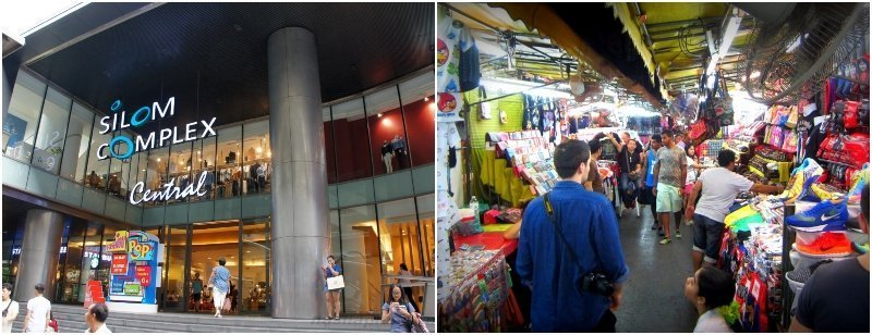 Shopping malls and markets in Silom