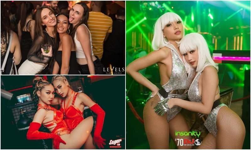 Levels Sugar and Insanity Clubs in Soi 11 Bangkok