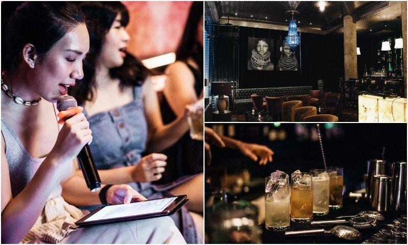 Karaoke rooms and cocktails at Bar Savoy in Bangkok