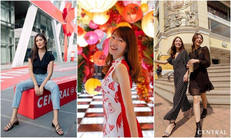 Thai girls having fun at Central Plaza Pinklao shopping mall in Bangkok