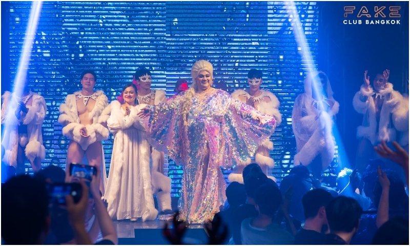 Trans show at Face Club Bangkok in Thailand